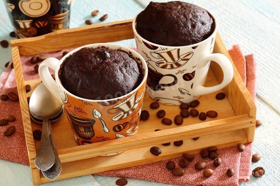 Кекс в микроволновке за 5 минут в кружке — 9 простых и быстрых рецептов