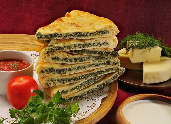 Пирог с брынзой