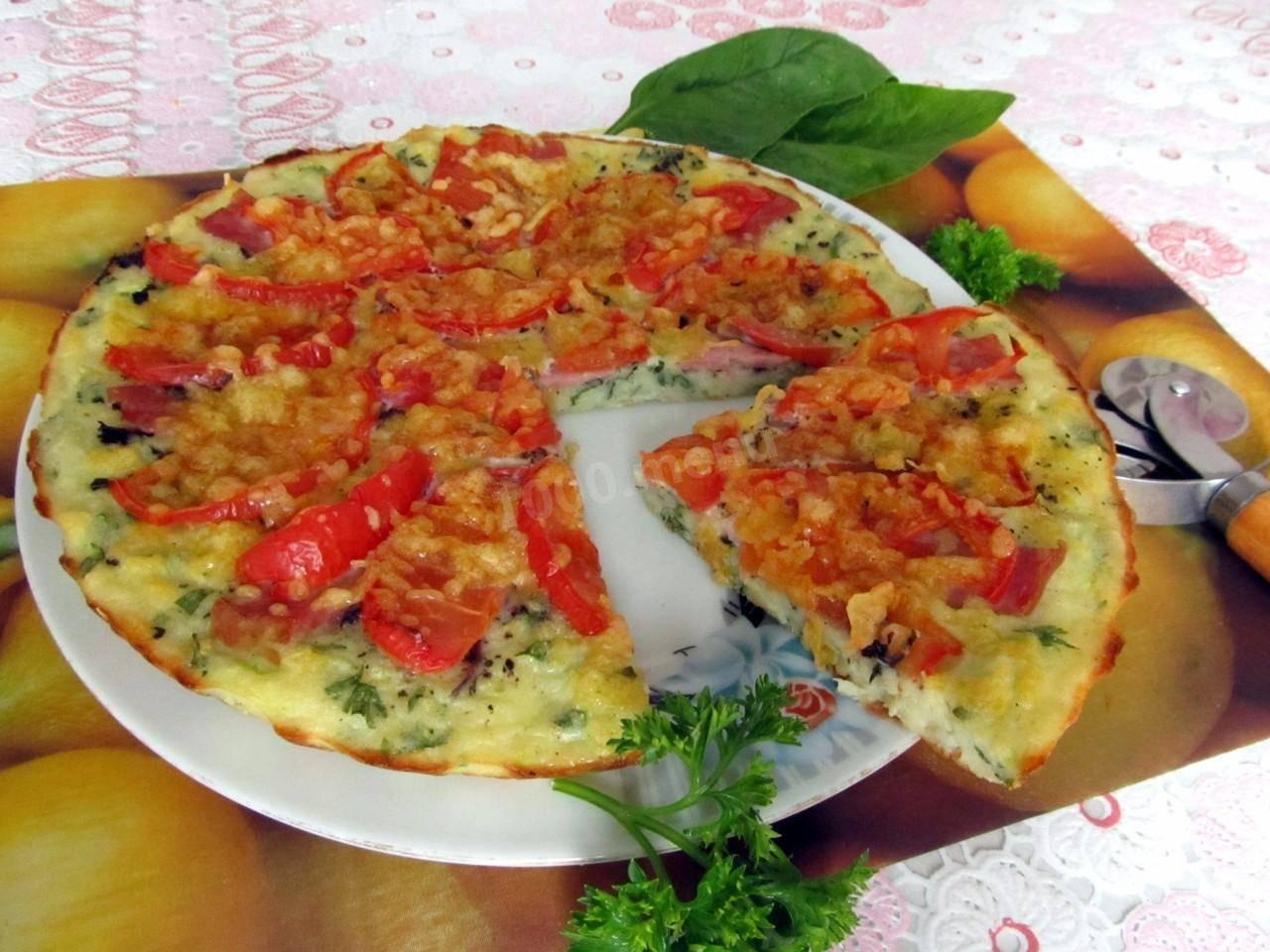 Кабачковая пицца. пошаговый рецепт с фото • кушать нет