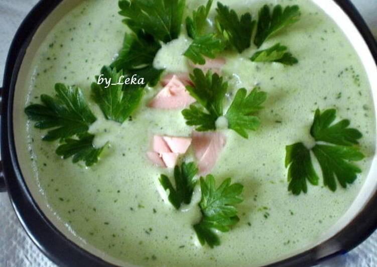 Холодный огуречный суп - 16 пошаговых фото в рецепте