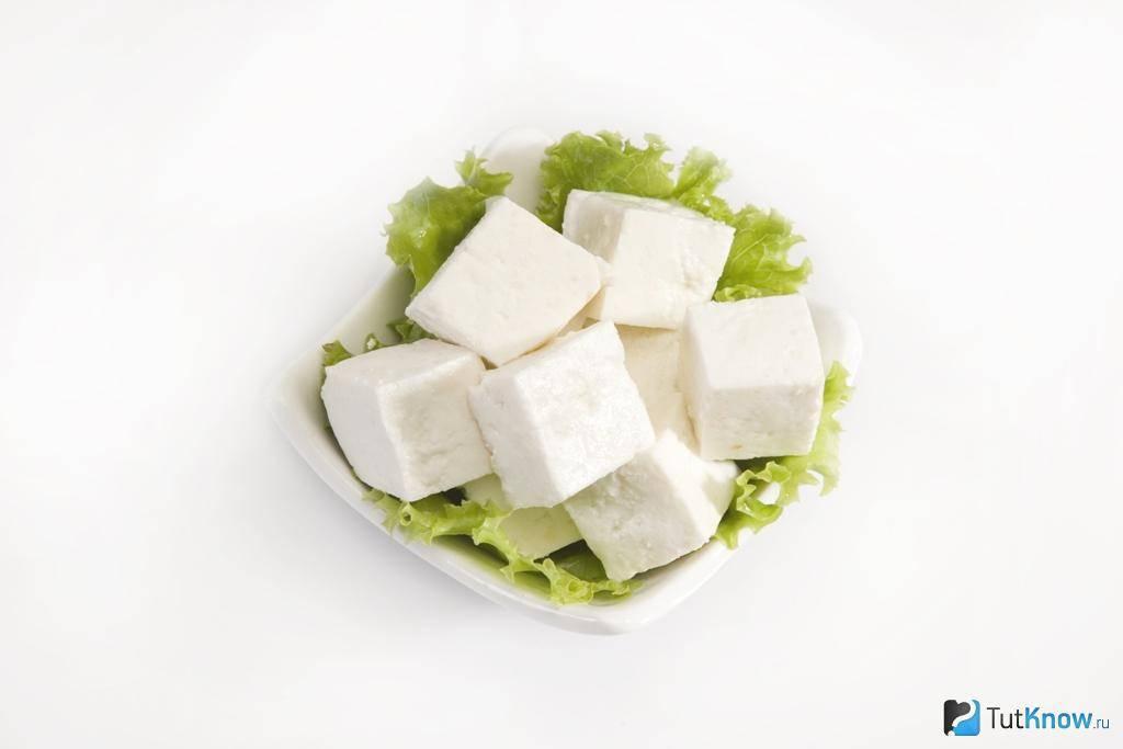Индийский сыр панир