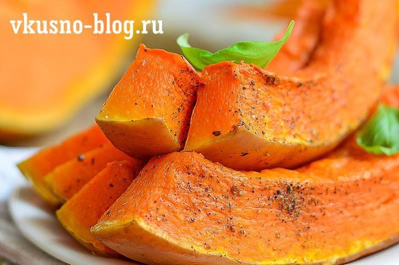 Тыква, запеченная с сахаром в духовке: рецепт с фото