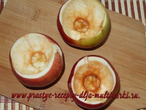 Панкреатит. яблоки печеные в мультиварке