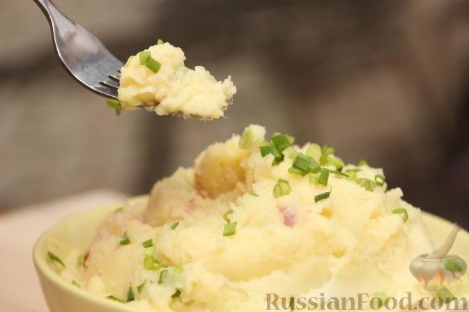 Картофельное пюре без мундира
