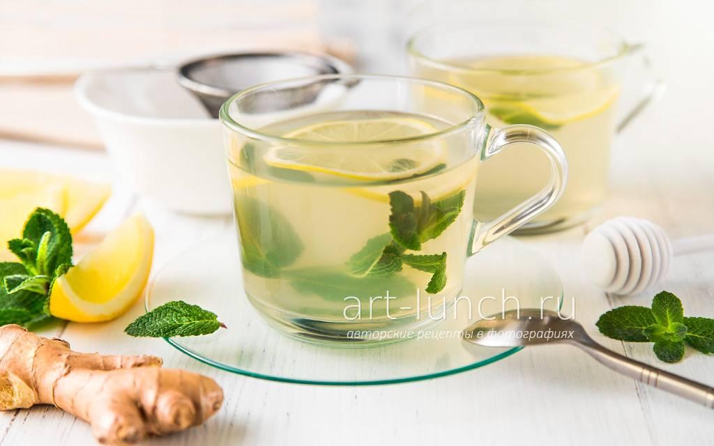 Лечебный чай с имбирем и лимоном от простуды: как заваривать и рецепты с пропорциями для взрослых и детей