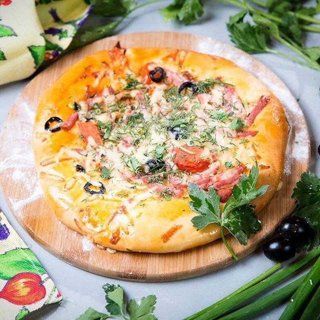Мини пицца на батоне в духовке
