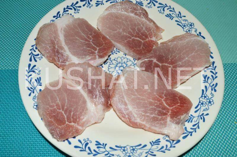 Свиная отбивная в духовке
