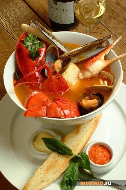 """Морской суп """"как в египте"""""""