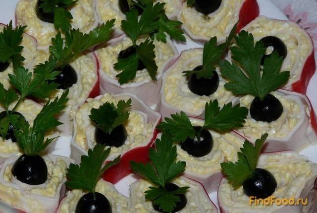 Фаршированные крабовые палочки: пошаговые рецепты с фото