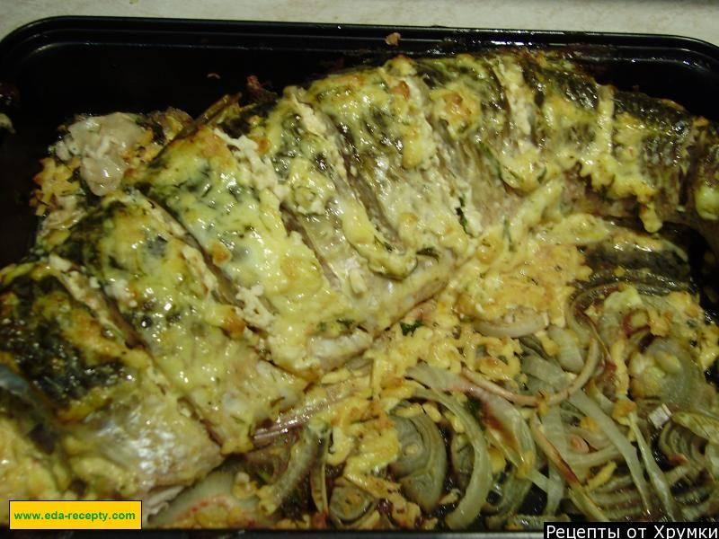 Пеленгас, запеченный в духовке: рецепт и фото