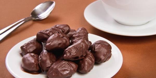 Рецепт чернослива в шоколаде