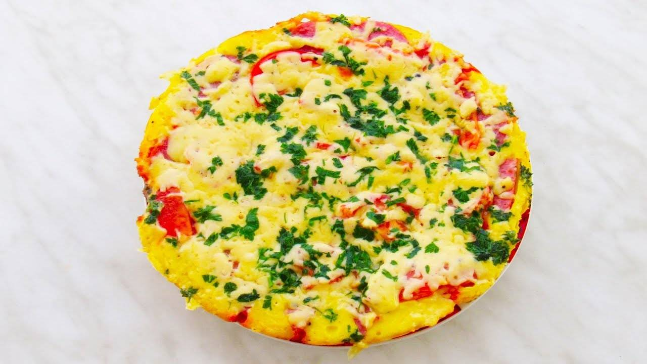 Пицца на сковороде пошаговый рецепт за 15 минут