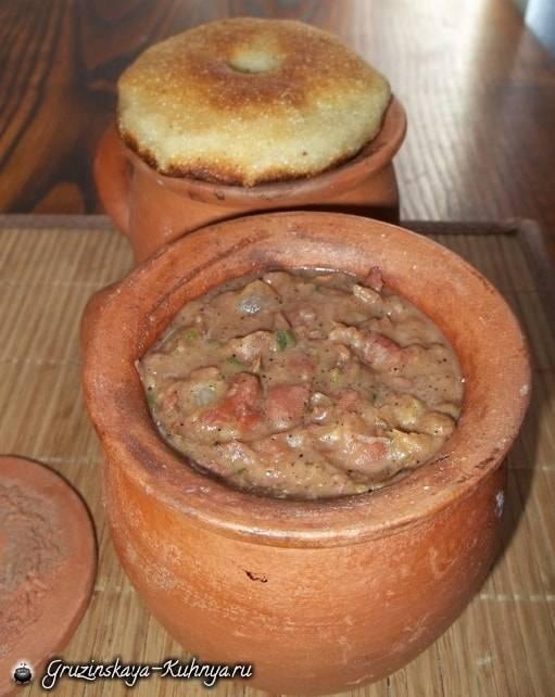 Теплый салат лобио в горшочке. - рецепт с фотографиями - patee. рецепты