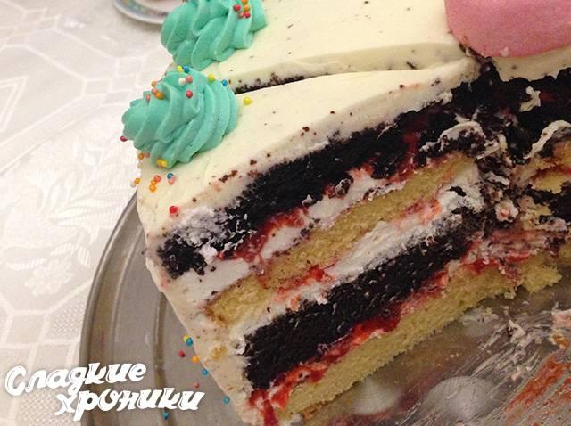Творожный торт - рецепты