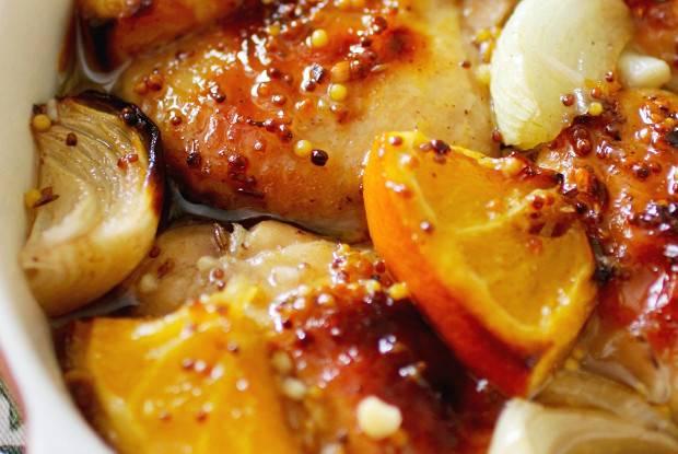 Курочка в апельсиново-медовой глазури - рецепт с фотографиями - patee. рецепты