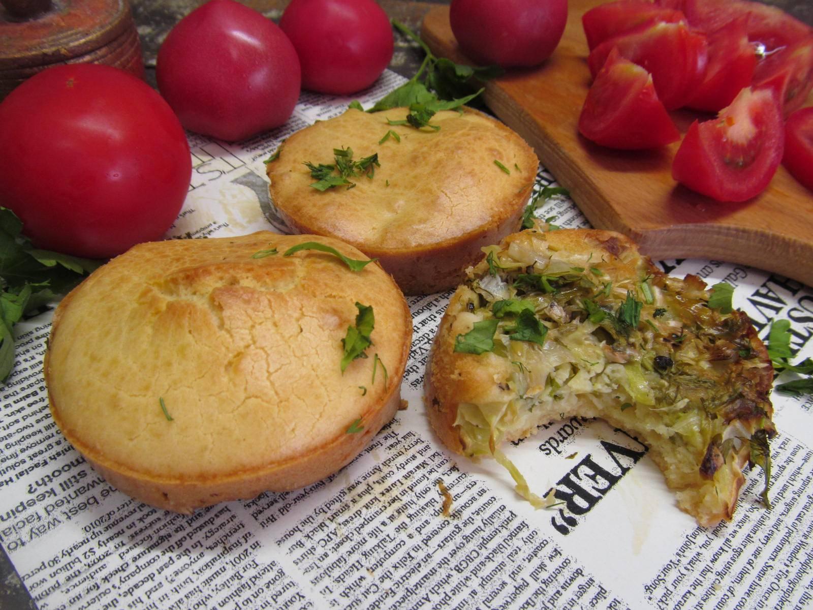 Вкусная начинка из капусты для пирожков