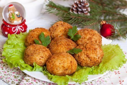 Картофельные крокеты с мясом
