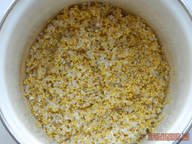 Руководство по приготовлению каши из риса и пшена