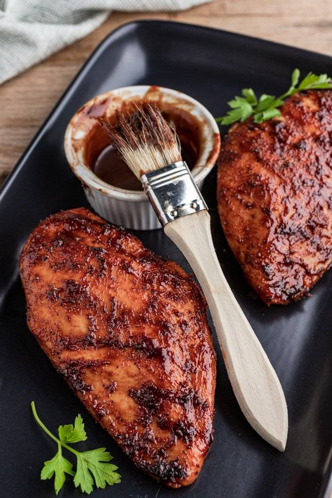 Курица в луковом соусе