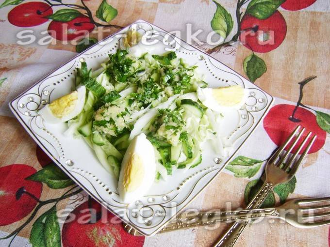 Салаты из сыра - рецепты