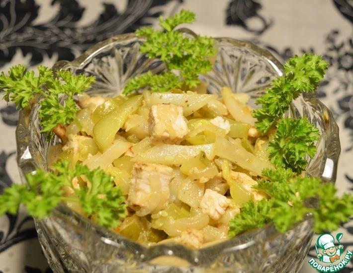 Салат из топинамбура рецепты с фото простые