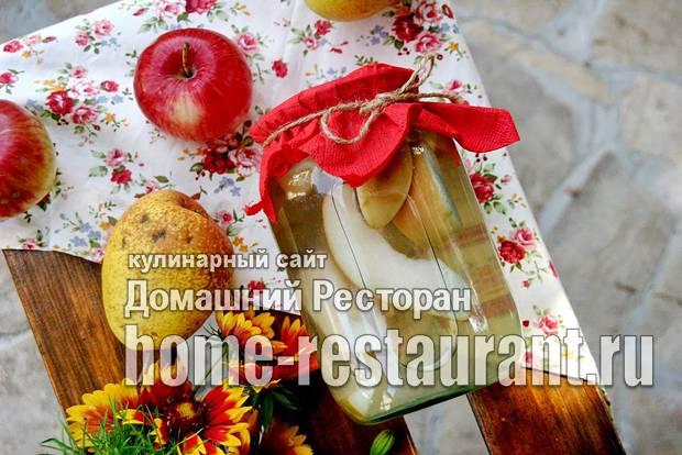 Компоты из яблок и груш на зиму: все секреты удачной консервации и 9 рецептов