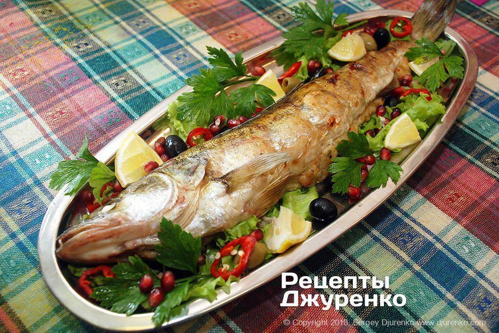 Новогоднее горячее: фаршированная рыба