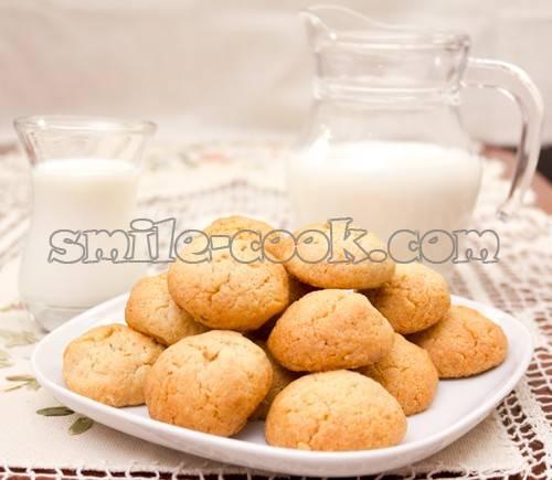 Печенье с соленым арахисом