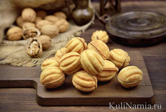 Печенье орешки со сгущенкой: пошаговые рецепты с фото для легкого приготовления