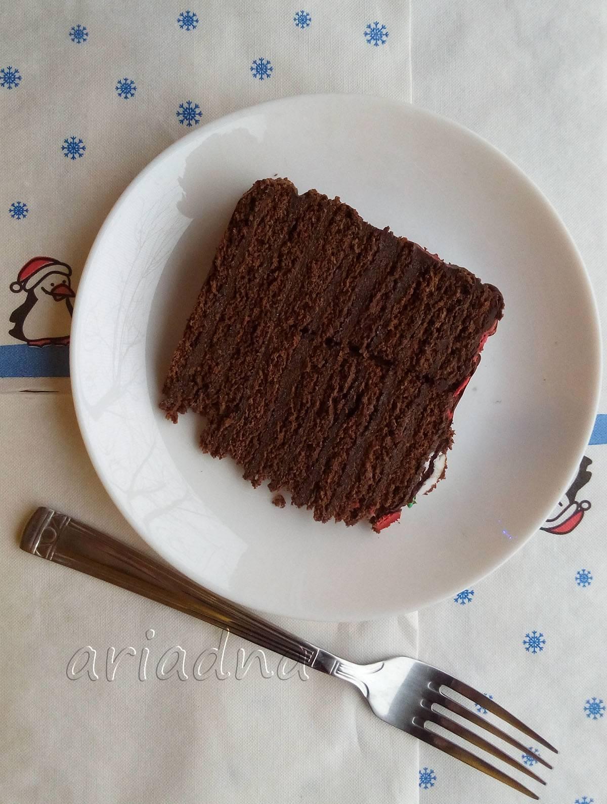 Булочки с шоколадом и орехами