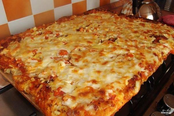 Основа для пиццы (тонкое хрустящее тесто)