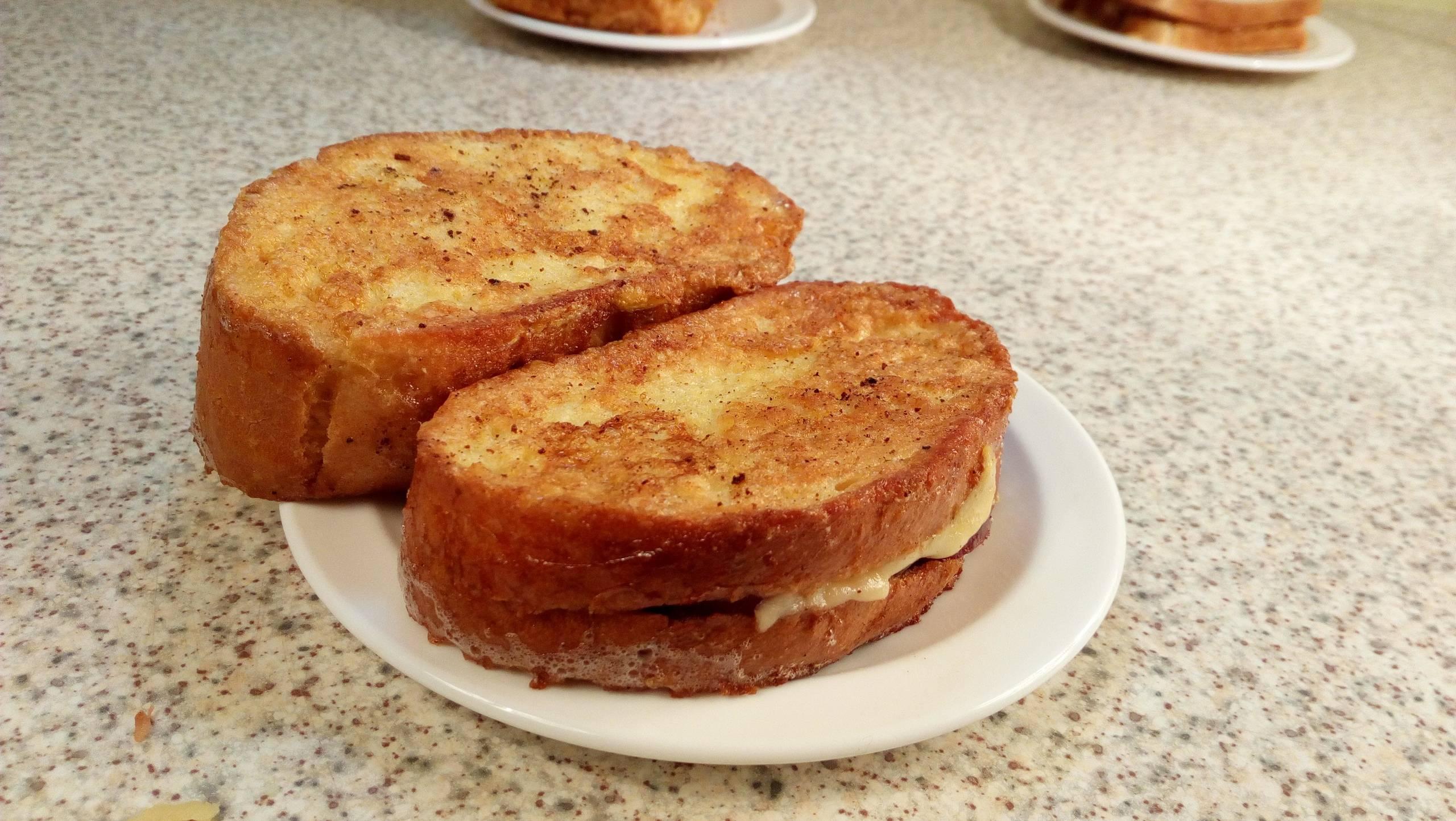 Простой, но какой же вкусный этот зефирный сэндвич