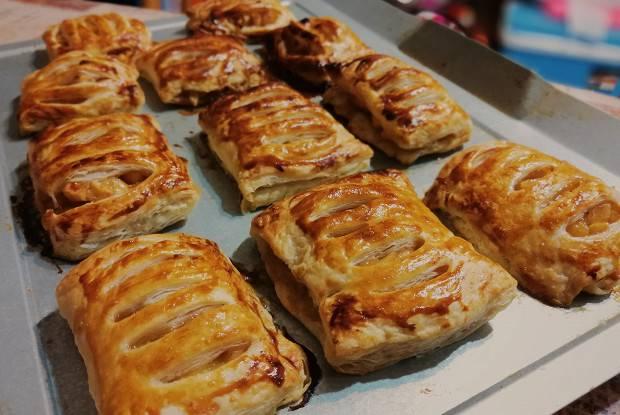 Начинка из яблок для пирогов и пирожков: как приготовить вкусную яблочную начинку