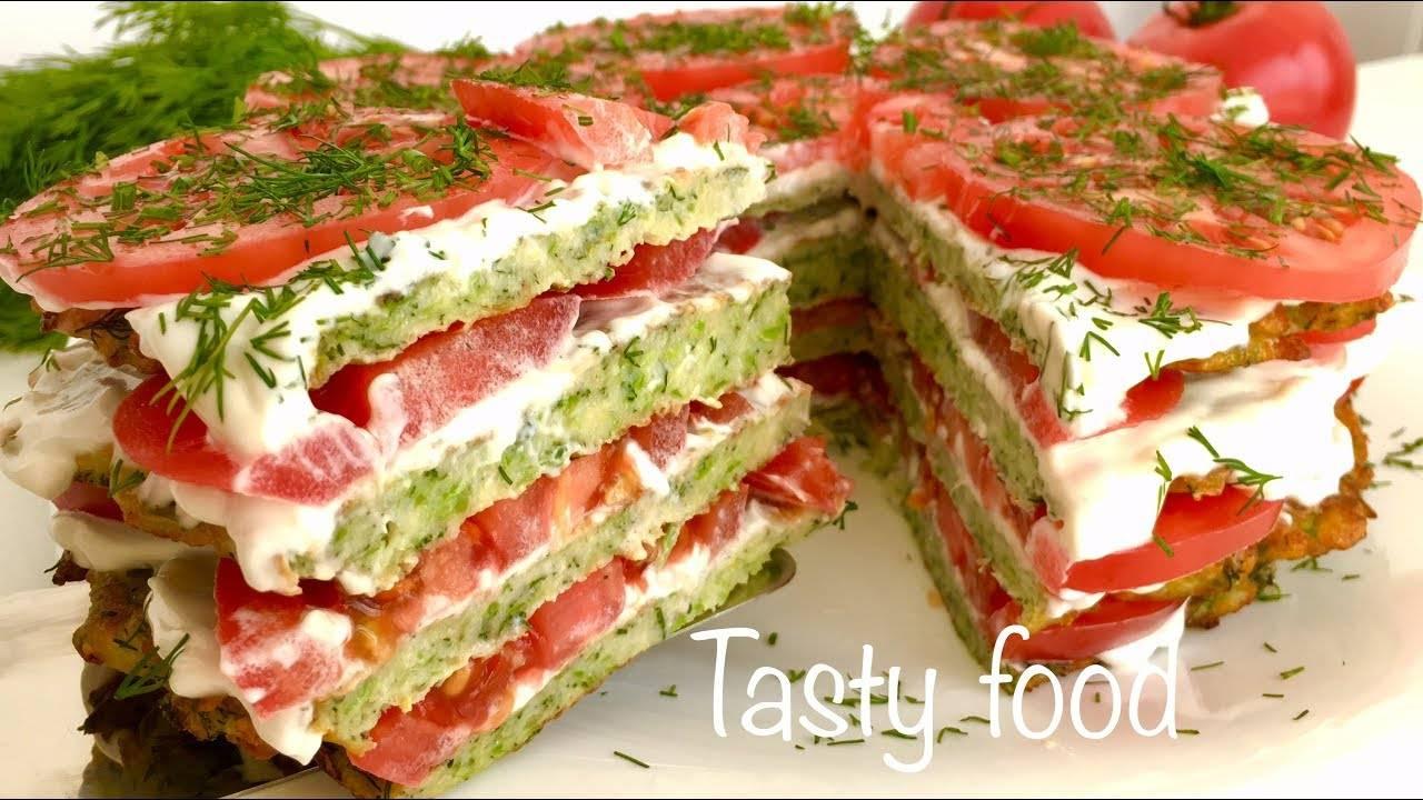 Кабачковый торт: лучшие рецепты с помидорами, сыром, грибами