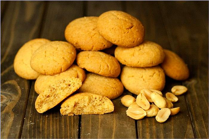 Диетическое печенье без муки и сахара