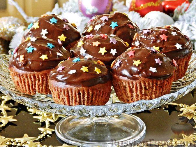 Шоколадно-ореховые кексы