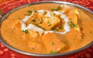 Домашний сыр панир из Индии