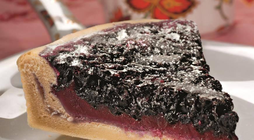 Пирог с черникой - рецепты пошагово с фото. как приготовить тесто и черничную начинку для пирога