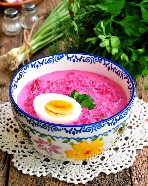 Белорусский холодник - пошаговый рецепт с фото |  первые блюда