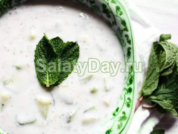 Рецепты йогуртовый соус