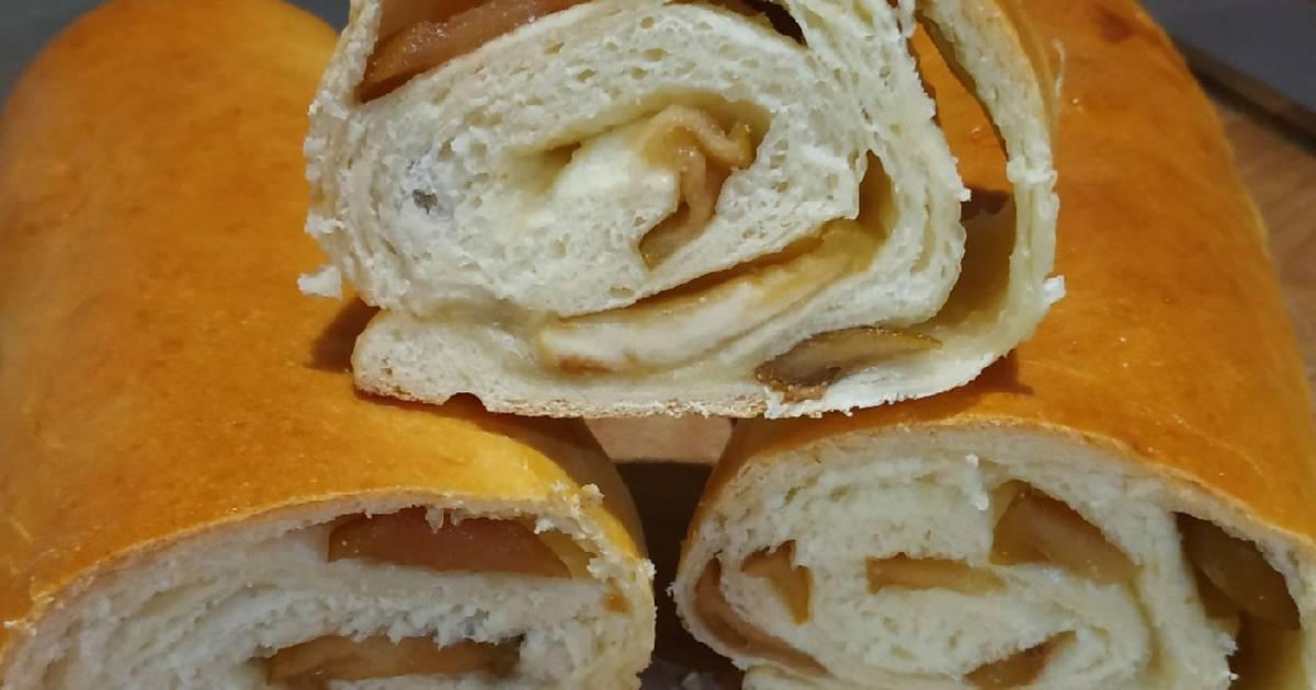 Сладкие булочки розочки с сахаром