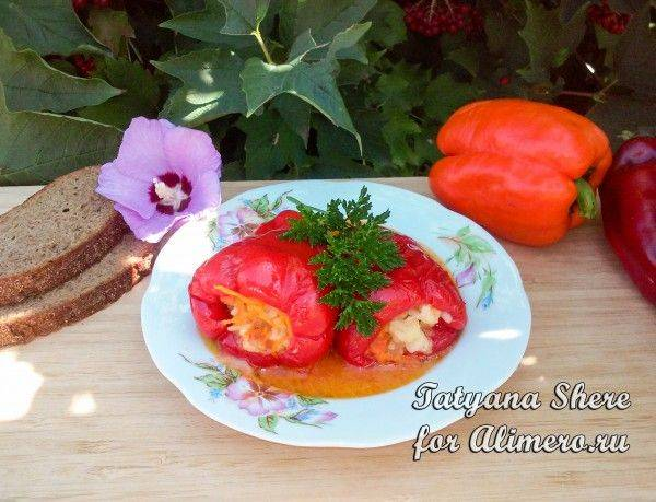 """Фаршированные помидоры """"закусочные"""""""