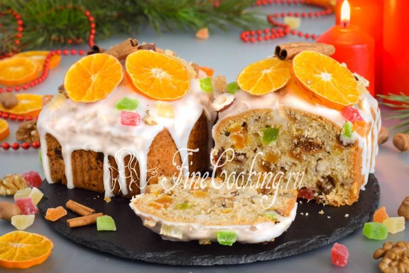 Рождественский кекс с сухофруктами и орехами - рецепты вкусной праздничной выпечки
