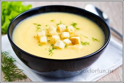 Суп-пюре с цветной капустой и сыром - 15 пошаговых фото в рецепте