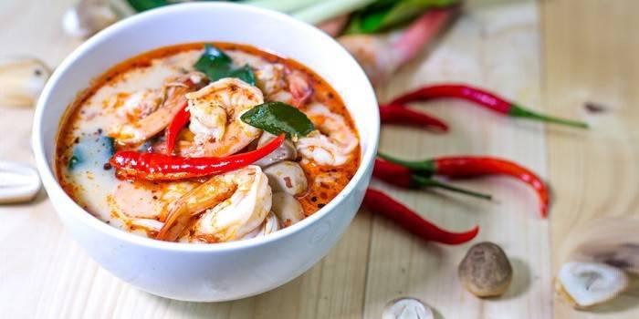 Том ям кунг: вкусное и обладающее лечебными свойствами блюдо
