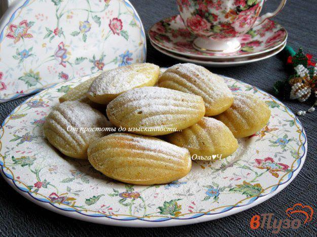 Пирожное мадлен рецепты с фото