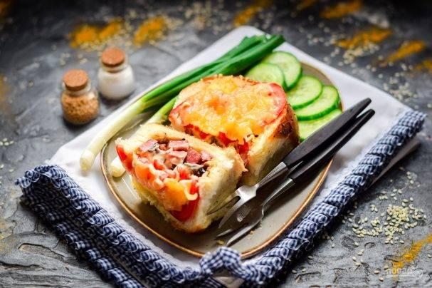 Рецепты с фото выпечка с колбасой: рецепты с фото, пирожки, булочки, с ливерной, из дрожжевого теста в духовке
