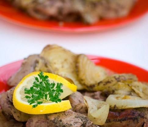 Румаки из маринованной куриной печени за 20 минут
