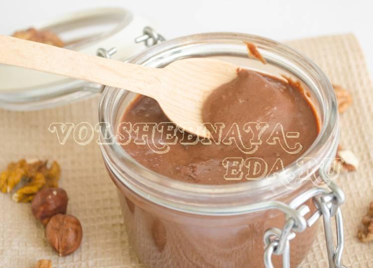 Домашняя нутелла: простой рецепт шоколадной пасты в домашних условиях