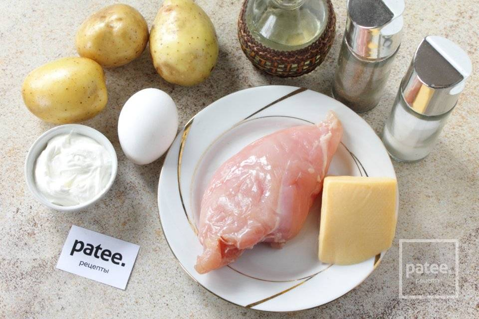 Картофельные тарталетки: пошаговый рецепт с фото
